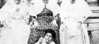 عکسی دیدنی و جالب از شکلک درآوردن زنان قاجاری!