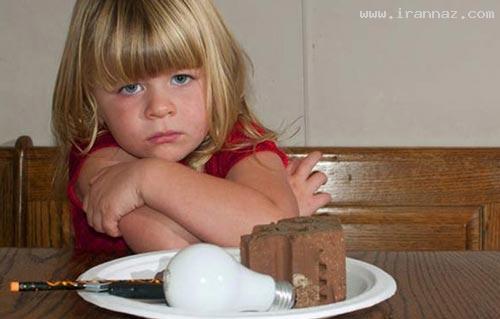 اعتیاد عجیب و باورنکردنی یک دختر بچه به…! +عکس