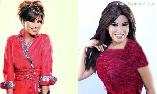 عکس های محبوب ترین خواننده زن عرب در سال 2012