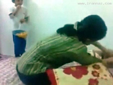 جنجال بر سر کلیپ کتک زدن دختری 10 ماهه +عکس ، www.irannaz.com