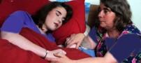زیبای خفته، دختری که ناگهان به خواب میرود! +عکس