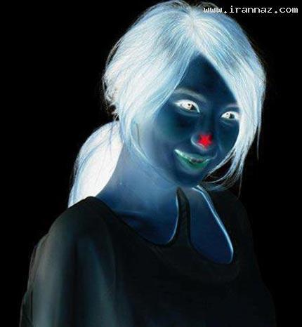 این دختر خانم با عکس خود شما را جادو خواهد کرد!! ، www.irannaz.com