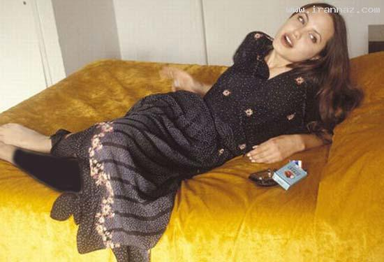 عکسهای آنجلینا جولی هنگامی که معروف نشده بود!