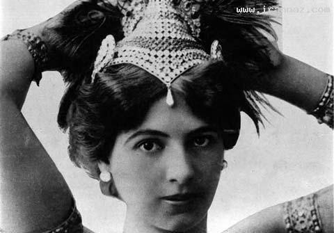 قدیمی ترین زن جاسوس جهان به عنوان رقاص +عکس
