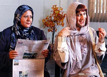 عکس هایی خنده دار از مردان زن نمای سینمای ایران