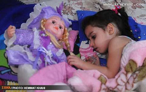 اتفاق بسیار دردناک برای دختر 4 ساله ایرانی! +تصاویر