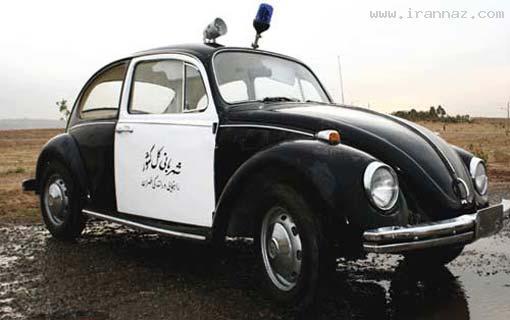 عکسهایی از ماشین پلیس های ایرانی از ابتدا تا کنون