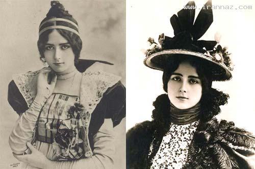 اولین ملکه زیبایی جهان و ایران در سال 1896 +عکس