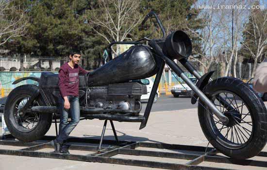 عکس هایی دیدنی از ابتکارات جالب شهرداری مشهد ، www.irannaz.com