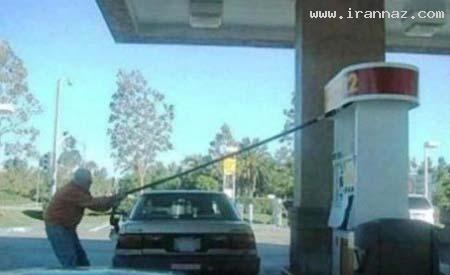 عكسهایی بسیار خنده دار از كارهای احمق ترین افراد ، www.irannaz.com