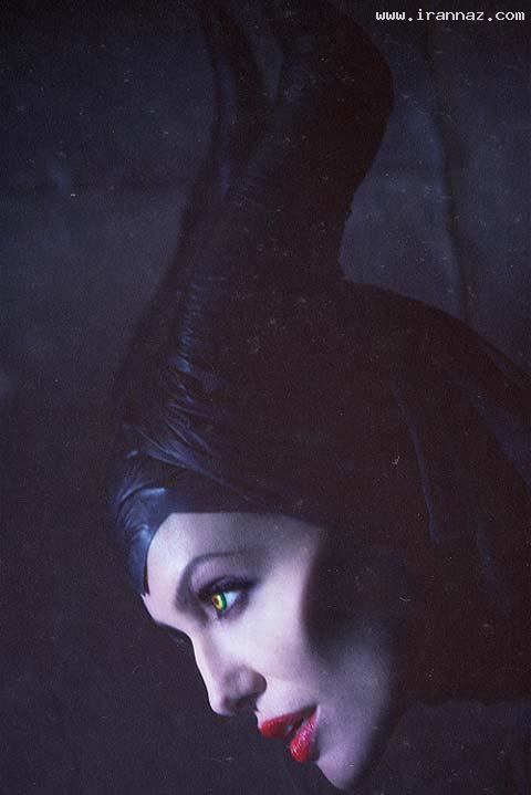 انتشار عکسهای آنجلینا جولی در نقش ملکه بدجنس!