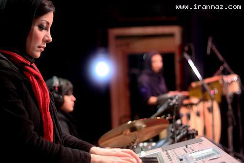 عکس هایی از اولین گروه موسیقی دخترانه در ایران!!