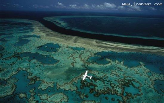 عکس های زیبا و دیدنی زمین که از بالا گرفته شده اند