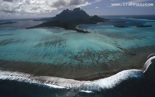 عکس های جزایری زیبا که شبیه تابلو نقاشی هستند