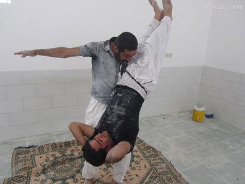 مردی ایرانی که دندان هایی مانند فولاد دارد!! +عکس