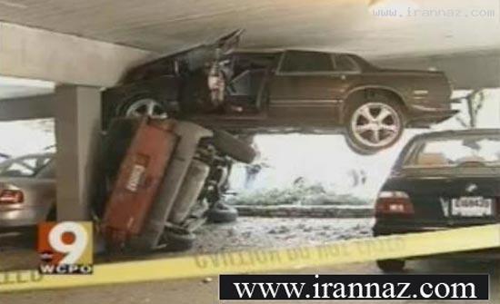 عکس هایی دیدنی از خنده دار ترین تصادف های دنیا