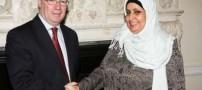 جنجالی که بر سر حجاب این خانم بر پا شده! + تصاویر
