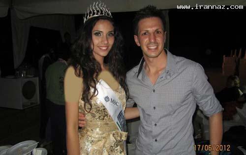عکس هایی از زیباترین دختر منتخب ایتالیا سال 2012