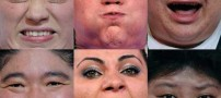 چهره وزنه برداران زن هنگام وزنه زدن!!