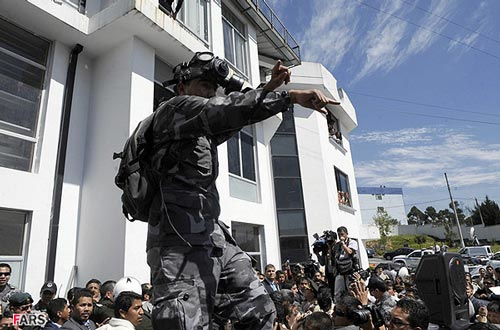 آزادی رییس جمهور از دست گروگانگیرها