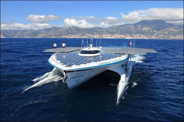 آغاز سفر طولانی بزرگترین قایق خورشیدی دنیا