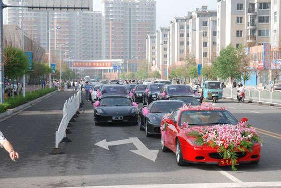 پر هزینه ترین عروسی های دنیا در کشور چین !