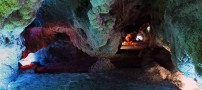 عکسهایی از غار زیبای چال نخچیر دلیجان