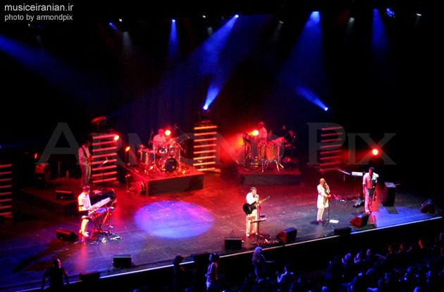عکسهای کنسرت گروه آریان در لس آنجلس!
