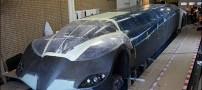 خودروی لیموزین با 14 در و 250 کیلومتر سرعت!