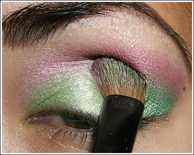 آموزش تصویری سایه چشم جدید 2010