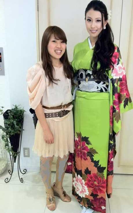 ملکه زیبایی 2012 ژاپن با 177 سانتی متر قد! +عکس