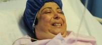 بازیگر سرشناس ایران بر روی تخت بیمارستان +عکس
