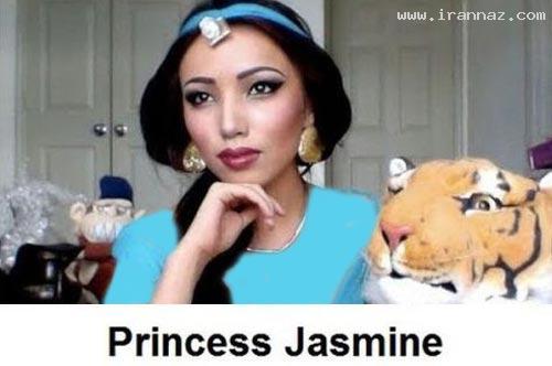 عکس های دیدنی دختری که به هر شکل در می آید! ، www.irannaz.com