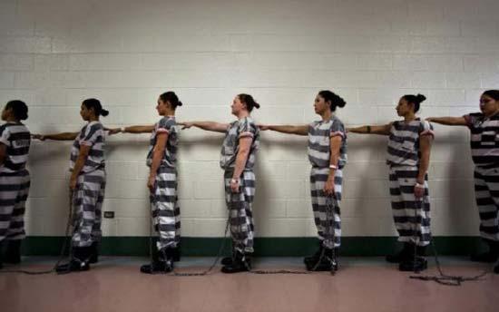 عکس هایی بسیار جالب از زندان زنان تبهکار در آریزونا!