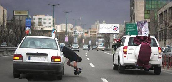 عجایب خنده دار که فقط در ایران میتوان دید! (تصویری)