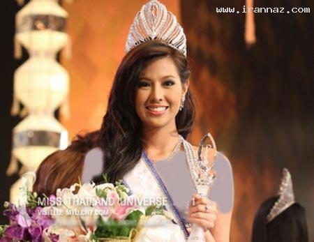 انتخاب و تاج گذاری زیبا ترین دختر 2012 تایلند +عکس