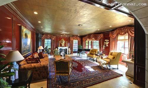 عکسهای دیدنی قصر 20 میلیون دلاری بریتنی اسپیرز