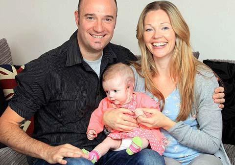 سرطان نادر و بسیار وحشتناک نوزاد 4 ماهه! +عکس