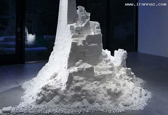 عکس هایی از خلق آثار شگفت انگیز با دانه های نمک