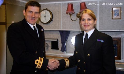 اولین زنی که توانست فرمانده ناو جنگی شود! +عکس