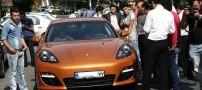 ماشین بسیار گرانقیمت جواد نکونام در ایران (تصویری)