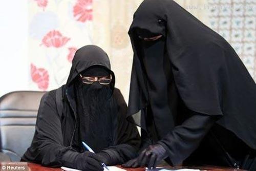 افتتاح شبکه ماهواره ای برای زنان نقاب دار !! +تصاویر