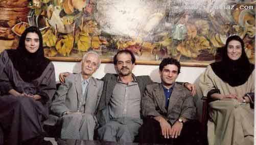 عکس معتمد آریا و پرستو گلستانی 19 سال پیش