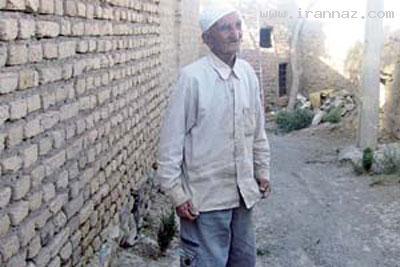 آشنایی با پیرترین مرد ایرانى با 125 سال سن +عکس
