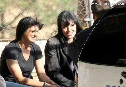 www.irannaz.com عکس های دیدنی بازیگران هالیوود در کنار بدلهایشان