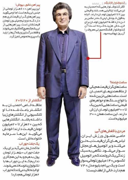 www.irannaz.com| مرد ایرانی با ساعت مچی 300 میلیونی + عکس