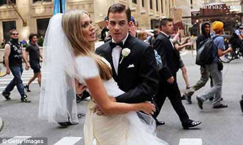 تصاویر بدشانس ترین عروس دنیا در روز ازدواجش