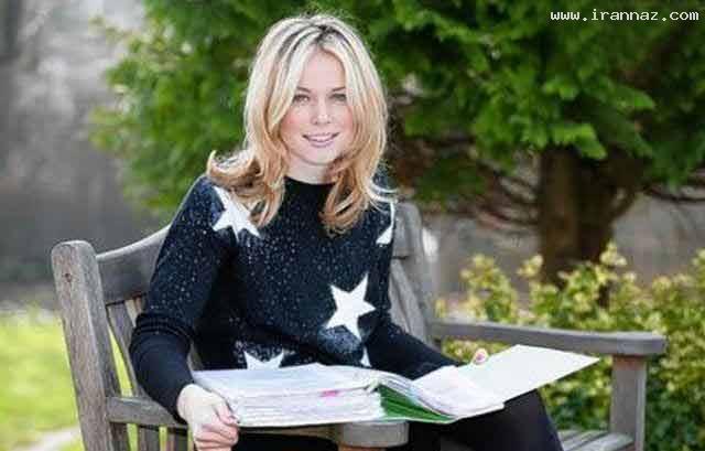 عکس های جذابترین دختر بریتانیا ازبین 8 هزار دختر