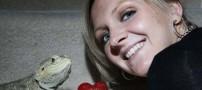 به تعویق افتادن ازدواج یک دختر بخاطر مارمولک+عکس