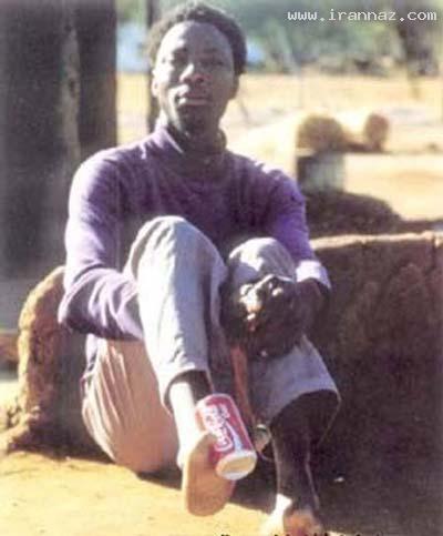 عکس های قبیله ای آفریقایی با پاهایی بسیار عجیب!